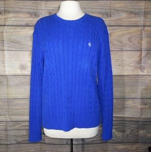 Lauren Ralph Lauren | Cable Knit Sweater Medium